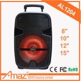 Teimeisheng 대중적인 Karaoke LED 가벼운 트롤리 스피커