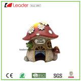 Покрашенная рукой статуя гриба Polyresin для домашних орнаментов украшения и сада