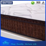 OEM Resilient Pocket Spring Mattress 27cm com 5 Zone Pocket Spring e Relaxing Memory Foam