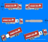 3D-Car форму пера USB Drive USB Stick Cutomed резиновые USB флэш-диска