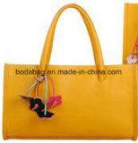 Retro fiori pendente e sacchetto di Tote di disegno di colore della caramella (BDMC012)