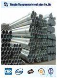 Tubo de aço pré-galvanizado estrutural de carbono