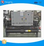 Kapazitäts-wassergekühlter Schrauben-Kühler des niedrigen Preis-350ton für Verkauf
