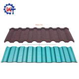 Pierre Milano colorés feuille de métal recouvert de tuiles de toiture