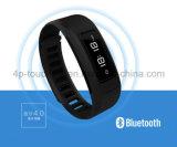 Il braccialetto astuto della vigilanza di Bluetooth del Wristband con IP56 impermeabilizza H6