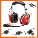 Anr Aviation Red Headset Noise Canceling pour General Aircraft