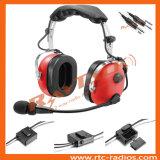 Anrの航空概要の航空機のために取り消す赤いヘッドセットの騒音