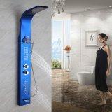 Robinet fixé au mur vertical de douche de salle de bains