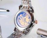 Horloge van de Dames van het Roestvrij staal van de Beweging van Japan van de manier het Automatische