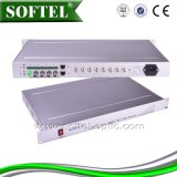 1u Chassis Type Professional Optical Video Converter (VideoかAudio/Data)、Video/Audio Optical Transceiver