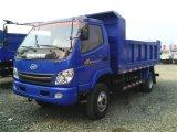 T王Left Drive Dieselのダンプカートラック5tの軽いダンプトラック
