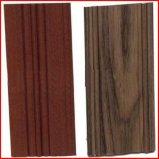 De houten KorrelProfielen van de Uitdrijving van het Aluminium voor Deuren en Vensters