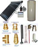 O sistema de pressão de grupo solar sem circulação da bobina (Eadex)