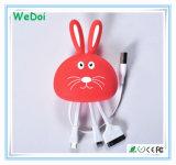 Nuovo coniglio 3 del fumetto in 1 cavo del USB con velocità veloce (WY-CA32)