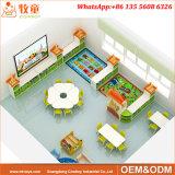 Jogo material da tabela do estudo do MDF e da mobília das crianças da cadeira