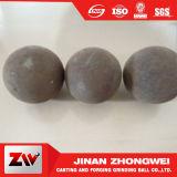 Bolas de acero de pulido forjadas 127m m competitivas para la mina de oro