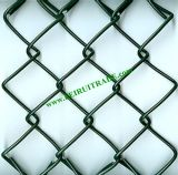 ResidenceのためのPVC Coated Chain Link Fencing