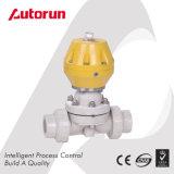 Válvula de diafragma neumática del acero inoxidable de la industria alimentaria 316L
