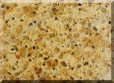 Partie supérieure du comptoir extérieures solides de pierre artificielle de quartz pour la cuisine