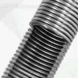 Manguito acanalado del metal flexible