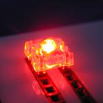 Roter Fluss LED 1000-1500MCD
