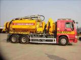 Camion de Jetter de vide de combinaison pour la gestion des déchets