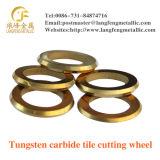 タイルの切削工具、タイルカッターの車輪