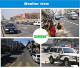 Appareil-photo monté par toit antichoc du véhicule PTZ d'IP de 1080P 30X HD