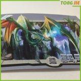 Sticker van Foor van het Overdrukplaatje van de Fabriek van Tongjie de online In het groot Milieuvriendelijke 3D Vinyl