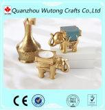Elefante de resina populares suporte para velas decorativas dons de retorno de casamento