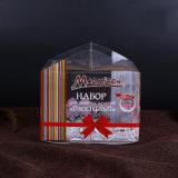 Caixa de bolo plástica impressa costume para o aniversário (caixa de bolo do ANIMAL DE ESTIMAÇÃO)