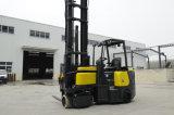 Forklift elétrico do corredor americano do estreito da bateria do Forklift do projeto