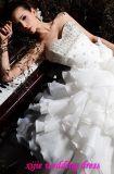 Abito di cerimonia nuziale modesto del vestito da cerimonia nuziale (Sala-041)