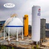 Tanque criogênico do armazenamento do oxigênio líquido/nitrogênio/gás natural/dióxido de carbono 30m3
