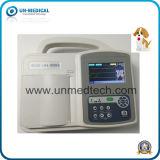 Tres canales de la máquina de ECG de uso veterinario