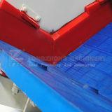 Schermo d'asciugamento per le parti incastrata di un mattone in aggetto della miniera