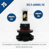 Lmusonu hochwertige LED Selbstscheinwerfer-Birne der beleuchtung-25W 6000lm H13 LED