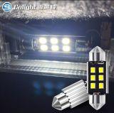 대중적인 차량 빛, 전구 및 램프 납품업자 T10 2W LED 독서 빛 면허 램프 폭 램프, 트렁크 판매 보증 후에 가벼운 계기반용 등 W5w