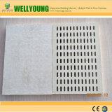 El sonido acústico Perforado Difusor de azulejos de techo de yeso