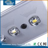 70W integrado no exterior em liga de alumínio LED Rua Solar Luz de Estrada