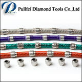 Reinforce Concrete Cutting Tools Diamond Wire Saw for Quarrying Profiling
