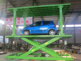 Dubbel van de de liftauto van de dek elektrisch auto het parkerenplatform voor huisgebruik