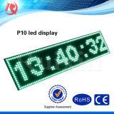 단 하나 녹색 P10 발광 다이오드 표시 모듈을 광고하는 방수 IP65 옥외 Semioutdoor