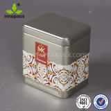 コーヒーおよび茶のためのロックが付いている正方形のEmobossedの金属の茶錫