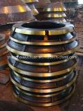 Parti del frantoio del cono del manganese