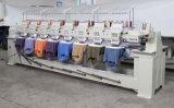 8ヘッド9カラー帽子の刺繍機械/自動計算機の衣服の刺繍機械