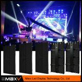 LED 스크린 500X1000mm P3.9/P4.8 실내 광고 널은을%s 가진 임대 Stageshow를 위한 주조 알루미늄 내각을 정지한다