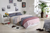 Textiel Katoenen van 100% Beddegoed Van uitstekende kwaliteit die voor Huis/de Reeks van het Beddegoed van de Dekking van het Dekbed van het Dekbed van het Hotel (Groen Bos) wordt geplaatst