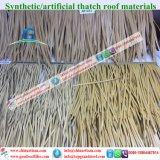 De met stro bedekte Paraplu van het Strand van de Bungalow van het Water van het Plattelandshuisje van de Hut Staven/Tiki van Tiki van het Dak Synthetische Met stro bedekte