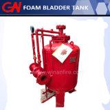 Gran rango de caudal del depósito de la vejiga de espuma para el sistema de combate de incendios